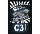 Дрожжи спиртовые турбо DoubleSnake С3 Carbon  с углем